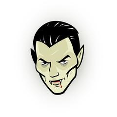 Vampire head
