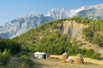 Landscape Of Southern Albania