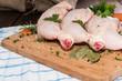 Prepared Chicken Legs
