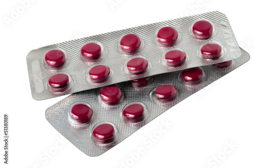 Blisters with extract of Siberian ginseng tablets