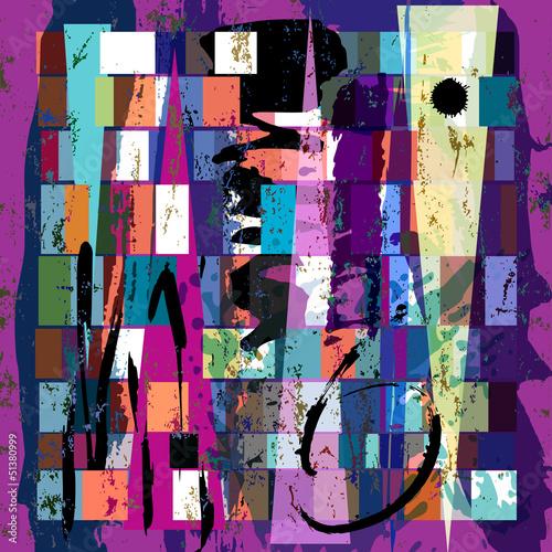 abstrakcyjne-tlo-z-kwadratow-trojkat-pociagniec-farby-i-s
