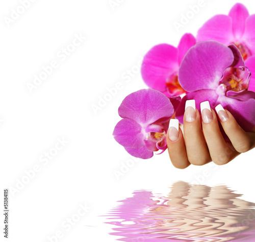 Fototapeten,nail art,nagel,französisch,finger