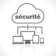 la sécurité sur le nuage numérique et les terminaux numériques