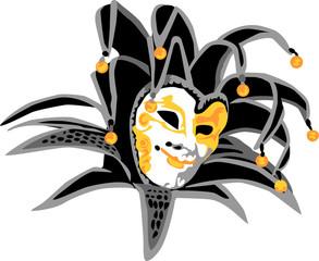 carnival mask - joker