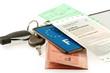 papiers et clés de voiture