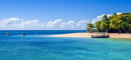 Paradise tropical island (Green Island, Queensland, Australia)