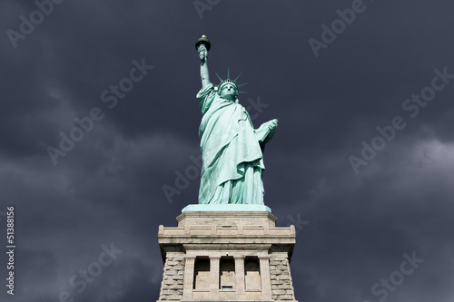 Statue of Liberty Thunderstorm