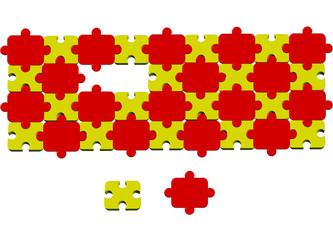 sarı kırmızı pazıl