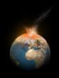 Erde Komet Einschlag