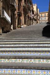 Scala di S. Maria del Monte - XVII secolo - Caltagirone