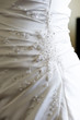 Wedding dress closeup