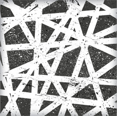 Grunge Abstract Geometrical Design