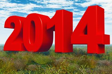 Jahr 2014 - Rot