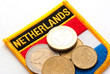 dutch coins and badge