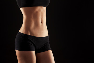 female abdomen