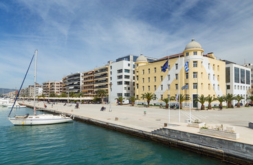 Volos city waterfront, Thessaly, Greece