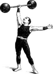 ancient sportsman
