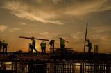 Fototapety Energetic Workers