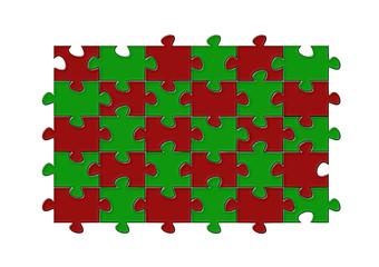 Puzzle pazıl tasarım