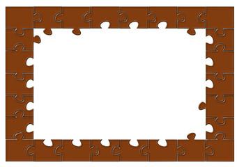 Puzzle çerçeve