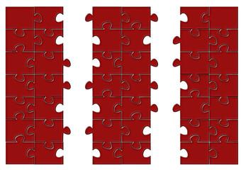 Puzzle pazıl tasarımı