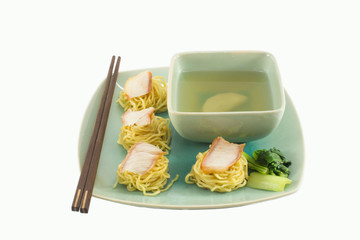 Noodle with soup