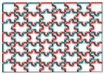 Puzzle buzlu