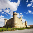 The Castle of Cartagena, a town of Olmillos de Sasamon, Burgos (
