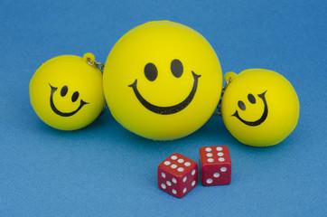 Couple of happy smileys