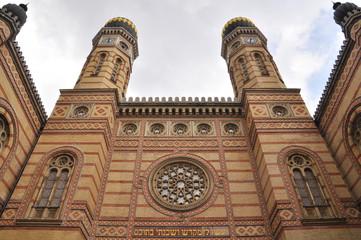 Große Synagoge in Budapest, Ungarn