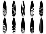 surfboard icons