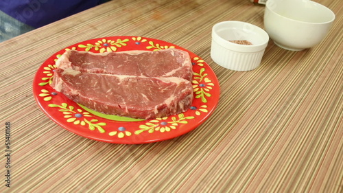Seasoning Strips Steaks