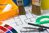 brushes and accessories for repair