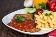 Schnitzel with Sauce