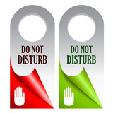 Vector do not disturb cards