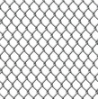 Wire fence seamless tile