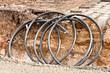 Kabelschutzrohr - Leerrohr in einer Baugrube