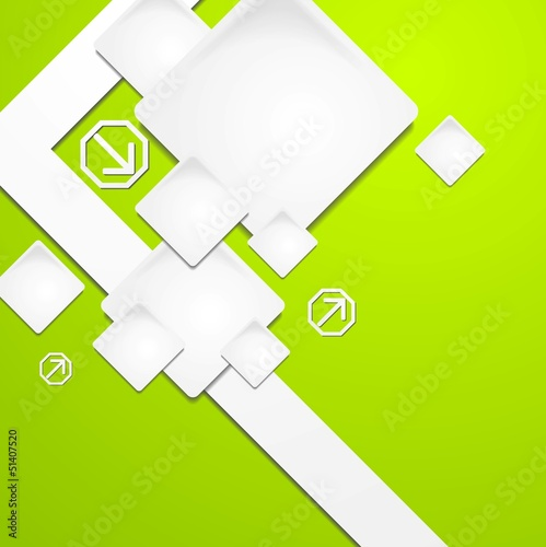 Colourful vector tech background