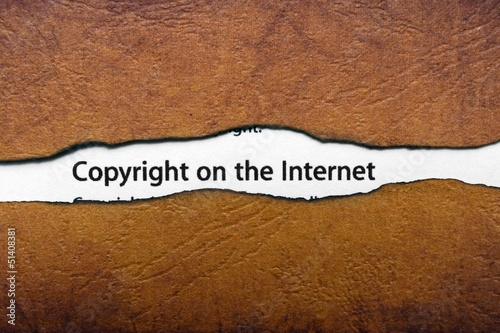 Copyright on the internet