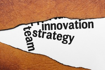 Innovation strategy concept