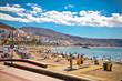 Playa de la Vistas beach. Tenerife, Canaries