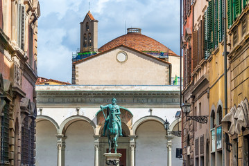 Florence, Santissima Annunziata square