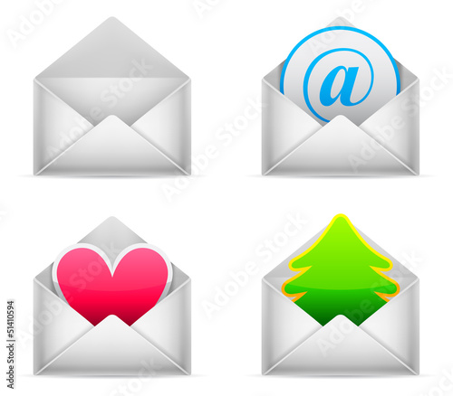 Envelopes with different content.
