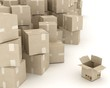 cardboard boxes B3-d visualization