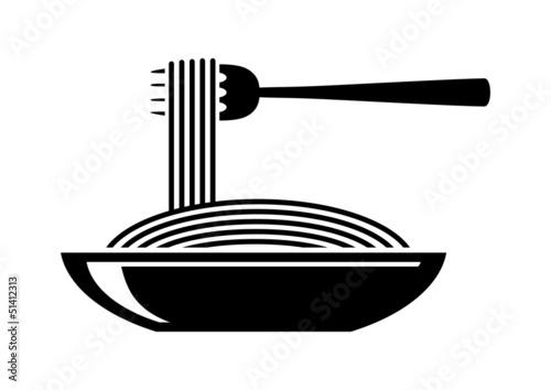 Spaghetti icon - 51412313