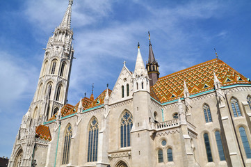 St. Matthias Kathedrale in Budapest, Ungarn