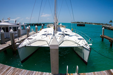 Sailboat in the Florida Keys