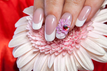 Beautiful manicure