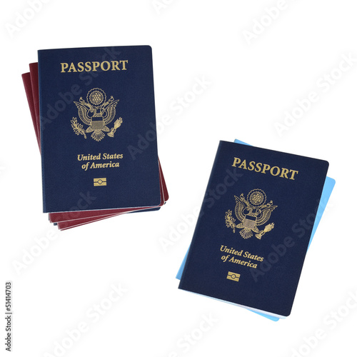 two passport stacks