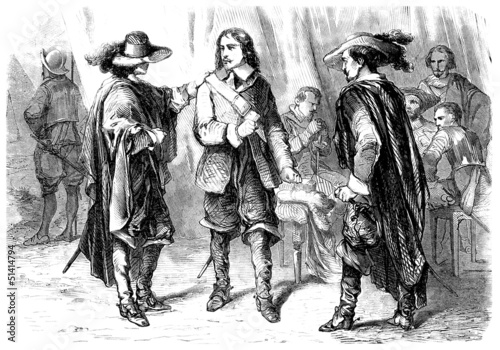 3 Musketeers - 18th century